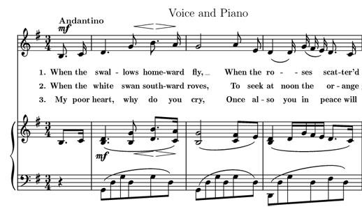 Préférence Partition gratuite Piano et chant - Partitions gratuites à  BE01